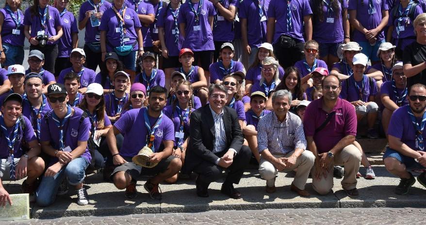 Scout dalla Grecia in Palazzo Loggia - La Voce del Popolo
